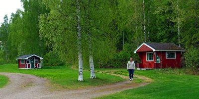 Campingstugor i Hälsingland